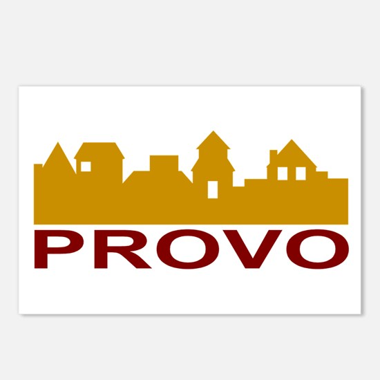 Provo Skyline Postcards (Package of 8)