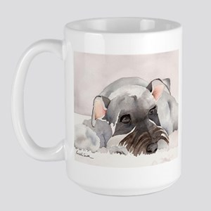 Miniature Schnauzer Stuff! Large Mug