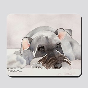 Miniature Schnauzer Stuff! Mousepad