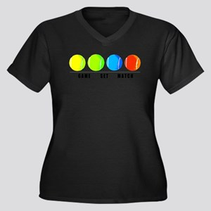 GAME SET MATCH Plus Size T-Shirt