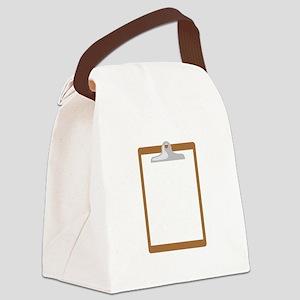 CLIPBOARD Canvas Lunch Bag