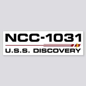 USS Discovery - Updated Bumper Sticker