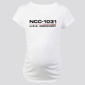 USS Discovery - Updated Maternity T-Shirt