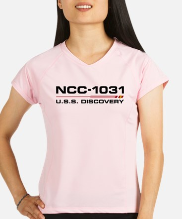 USS Discovery - Updated Performance Dry T-Shirt