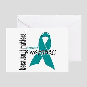 Scleroderma Awareness 1 Greeting Card