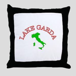 Lake Garda, Italy Throw Pillow