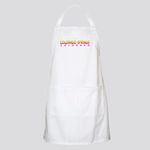 Colorado Springs, CO. BBQ Apron