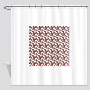 js_beMine2_paper_7 Shower Curtain