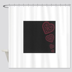 js_beMine2_paper_5 Shower Curtain