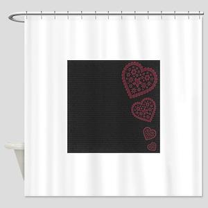 js_beMine2_paper_5 Shower Curtain