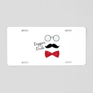 Dapper Dude Aluminum License Plate