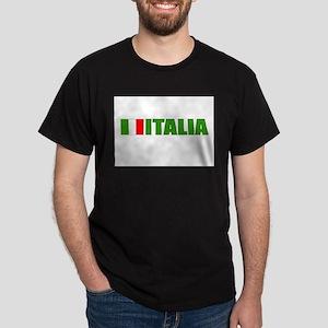 Italia Flag Dark T-Shirt