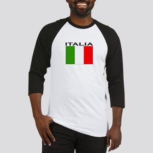 Italia Flag II Baseball Jersey