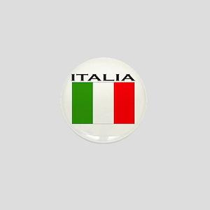 Italia Flag II Mini Button