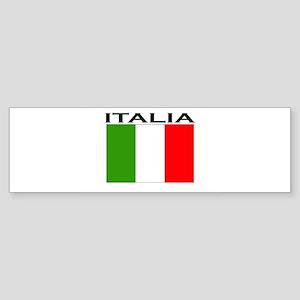 Italia Flag II Bumper Sticker