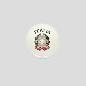 Italia Coat of Arms Mini Button