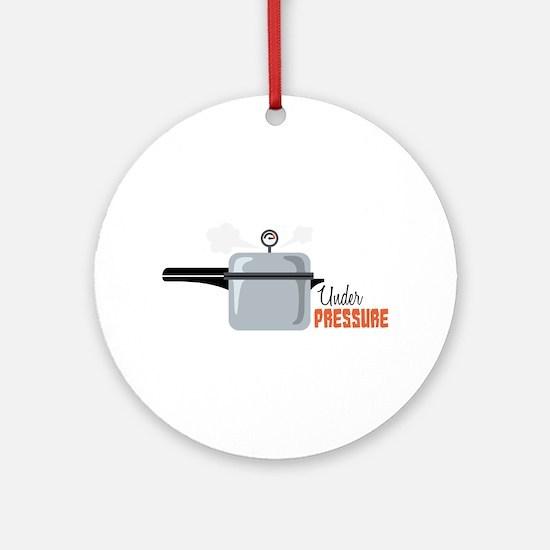 Under Pressure Ornament (Round)