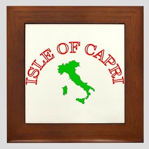 Isle of Capri Framed Tile
