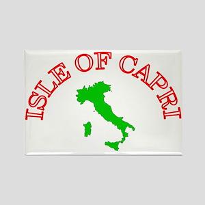 Isle of Capri Rectangle Magnet