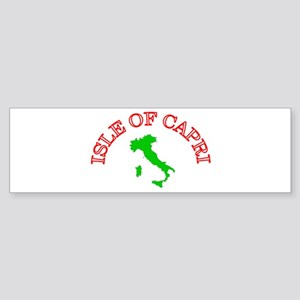 Isle of Capri Bumper Sticker