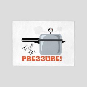 Feel The Pressure 5'x7'Area Rug