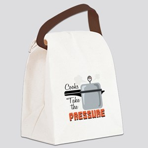 Cooks Take The Pressure Canvas Lunch Bag