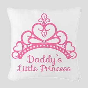 Daddys Little Princess, Elegant Tiara Woven Throw