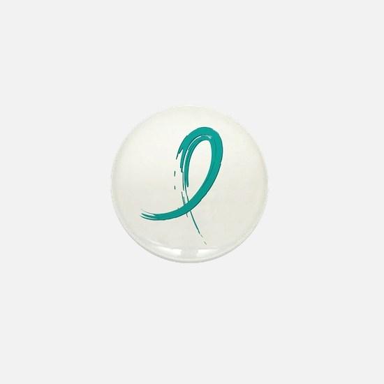 Scleroderma GraffitiRibbon1 Mini Button