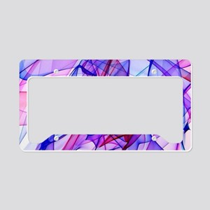 Flame Art ABBY License Plate Holder