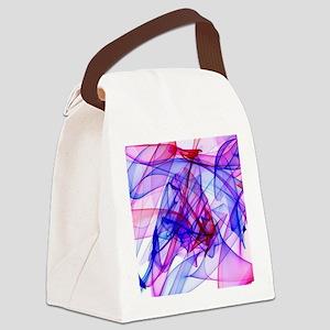 Flame Art ABBY Canvas Lunch Bag