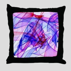 Flame Art ABBY Throw Pillow