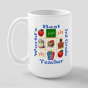 3rd grade Large Mug