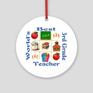 3rd grade Ornament (Round)