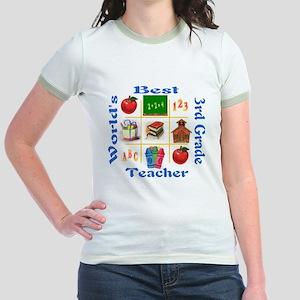 3rd grade Jr. Ringer T-Shirt