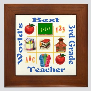 3rd grade Framed Tile