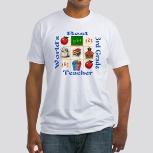 3rd grade Fitted T-Shirt