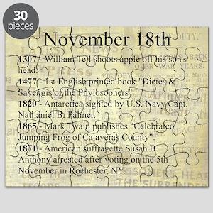 November 18th Puzzle