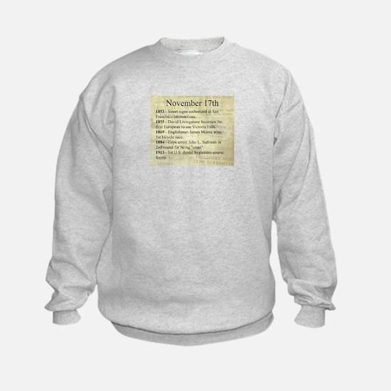 November 17th Sweatshirt