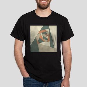 Earth Tone Shapes Construct T-Shirt