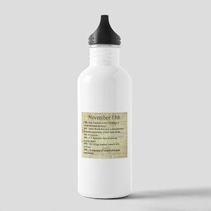 November 13th Water Bottle