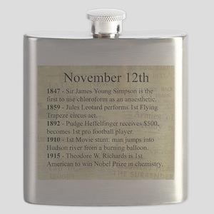 November 12th Flask