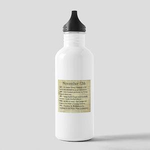November 12th Water Bottle