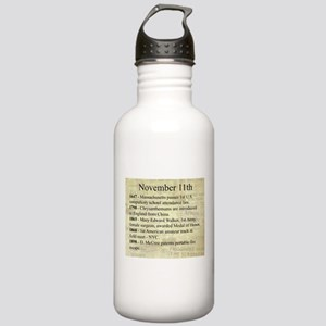 November 11th Water Bottle