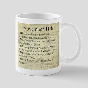 November 11th Mugs