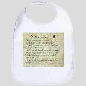 November 11th Bib