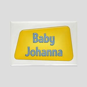 Baby Johanna Rectangle Magnet