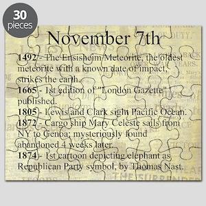 November 7th Puzzle