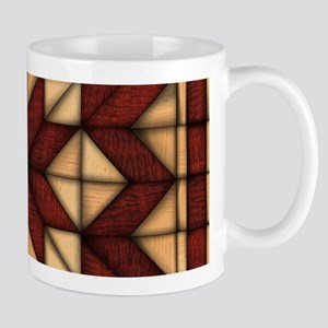 Wooden Quilt Mugs