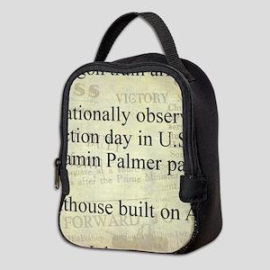 November 4th Neoprene Lunch Bag