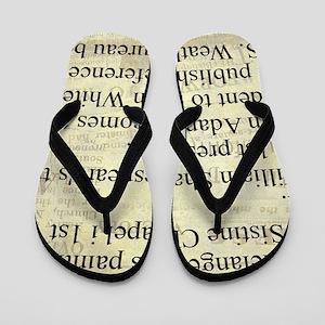 November 1st Flip Flops